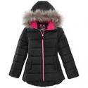 Deals List: RM 1958 Big Girls Ashlyn Hooded Jacket with Faux-Fur Trim