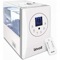 Deals List: LEVOIT Humidifier, 5.5L Warm Cool Mist Ultrasonic Humidifiers Bedroom Babies, Vaporizer Hygrometer Remote, Customized Humidity, Night Light, Whisper-Quiet, 2-Year Warranty