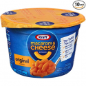 Deals List: Kraft Easy Mac Original Cheese, 2.05-Ounce Microwavable Cups (Pack of 10)