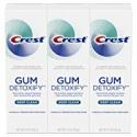 Deals List: 3-Pack Crest Gum Detoxify Deep Clean Toothpaste, 4.1 Ounce