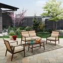 Deals List: Better Homes and Gardens Vaughn 4-piece Outdoor Conversation Set