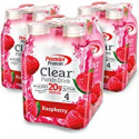 Deals List: Premier Protein Clear Drink, Raspberry, 16.9 fl oz Bottle, (12 Count)