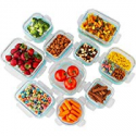 Deals List: 20 Pc Borosilicate Glass Food Containers Assorted Pack Food