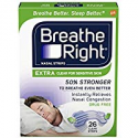 Deals List: Breathe Right Nasal Strips to Stop Snoring, Drug-Free, 26 Count
