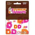 Deals List: $25 Dunkin Donuts DD Card