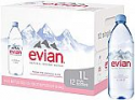 Deals List: 12-pack 1 Liter Evian Natural Spring Water
