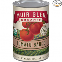 Deals List: Muir Glen Organic Tomato Sauce, No Sugar Added, 15 Ounce Can (Pack of 12)