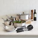 Deals List: Cooks 12-pc. Stainless Steel Cookware Set