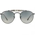 Deals List: Ray-ban Mens Vintage Round Black Sunglasses