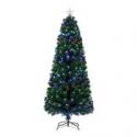 Deals List: Holiday Time Pre-Lit Fiber Optic Artificial Christmas Tree 7 ft