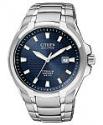 Deals List: Citizen Men's Eco-Drive Silver-Tone Titanium Bracelet Watch 42mm BM7170-53L