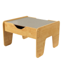 Deals List: KidKraft 2-in-1 Activity Table with Board, Gray/Natural