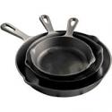 Deals List: Cooks Set of 3 Cast Iron Skillets