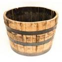 Deals List: Real Wood Products Rustic/Weathered Oak Wood Rustic Barrel