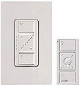 Deals List: Lutron Caseta Wireless Smart Lighting Dimmer Switch and Remote Kit for Wall & Ceiling Lights, P-PKG1W-WH, White, Works with Alexa, Apple HomeKit, and the Google Assistant