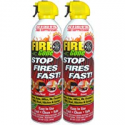 Deals List: Fire Gone 2NBFG2704 White/Red Fire Suppressant Canisters - 16 Ounce, (Pack of 2 Units)