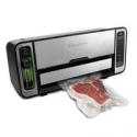 Deals List: FoodSaver Vacuum Sealer FSFSSL5860-DTC Premium 2-In-1 Automatic Bag-Making Sealing System, Silver