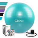Deals List: UNI FAM Exercise Stability Ball Chair 45cm w/Hand Pump