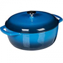 Deals List: AmazonBasics Enameled Cast Iron Dutch Oven - 6-Quart, Blue