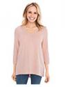 Deals List: Chico's Women's V-Neck Slub 3/4 Sleeve Tee Shirt
