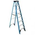Deals List: Werner 8-ft Fiberglass Type 1 - 250 lbs. Step Ladder FS108 f