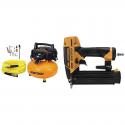 Deals List: BOSTITCH BTFP02012-WPK 6-Gallon 150 PSI Oil-Free Compressor Kit and Smart Point 18GA Brad Nailer Kit