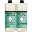 Deals List: Mrs. Meyer's Clean Day Multi-Surface Concentrate, Basil, 32 fl oz, 2 ct