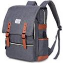 Deals List: Puersit Vintage Laptop Backpack Fits 15.6-inch
