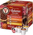 Deals List: Victor Allen's - Seasonal Edition Autumn Favorites Premium Variety Pack Coffee Pods (54-Pack), FG015787