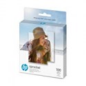 Deals List: HP Sprocket Photo Paper, exclusively for Sprocket or Sprocket 2-in-1 Printer, (2x3-inch), sticky-backed 100 sheets (1DE40A)