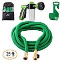 Deals List: 25-FT Sosoon Garden Hose Expanding Extra Strength Water Hose