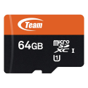 Deals List: Team 64GB microSDXC UHS-I/U1 Class 10 Memory Card with Adapter, Speed Up to 80MB/s (TUSDX64GUHS03