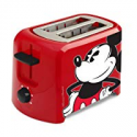 Deals List: Disney DCM-21 Mickey Mouse 2 Slice Toaster, Red/Black