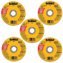 Deals List: DEWALT DW8062B5 4-1/2-Inch by 0.045-Inch Metal and Stainless Cutting Wheel, 7/8-Inch Arbor, 5-Pack