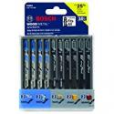 Deals List: Bosch 10-Piece Assorted T-Shank Jig Saw Blade Set T5002