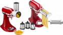 Deals List: KitchenAid - Pasta Cutter and Fresh Prep Attachment Bundle - White And Metal
