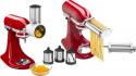 Deals List: KitchenAid - Pasta Cutter and Fresh Prep Attachment Bundle - White And Metal