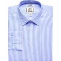 Deals List: Jos. A. Bank 1905 Collection Tailored Fit Spread Collar Stripe Dress Shirt