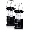 Deals List: 2-Pack APOLLED Camping Lantern 30-LED Collapsible Lantern