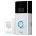 Deals List: RING Video Doorbell 2 w/Chime & 1 Year Ring Video Cloud Recording