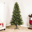 Deals List: GE 7-ft Pre-lit Ashville Fir Artificial Christmas Tree with 500 Multi-function Color Changing Warm White LED Lights