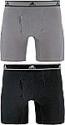 Deals List: 2 Pack adidas Men's Relaxed Performance Stretch Cotton Boxer Brief Underwear