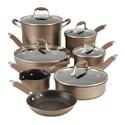 Deals List: Anolon Advanced Hard-Anodized 12-Pc Cookware Set+ $30 Kohls Cash