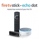 Deals List: Fire TV Stick with Alexa Voice Remote + Echo Dot (White)