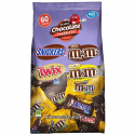 Deals List: SNICKERS, M&M'S & TWIX Fun Size Christmas Candy Variety Mix, 60 Pieces