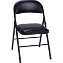 Deals List: Cosco Vinyl Folding Chair Black (4-pack)