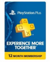 Deals List: Sony PlayStation Plus 1 Year Membership Subscription Card