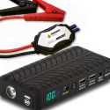 Deals List: Rugged Geek RG1000 Safety 1000A Portable Car Jump Starter, Battery Booster Pack and Power Supply with LCD Display, INTELLIBOOST Smart Cables, LED Flashlight and USB & Laptop Charging