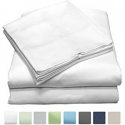 Deals List: 600 Thread Count 100% Long Staple Cotton Sheet Set, Soft & Silky Sateen Weave, Twin Bed Sheets, Elastic Deep Pocket, Hotel Collection, Wrinkle Free, Luxury Bedding, 3 Piece Set, Twin - White