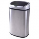 Deals List:  13-Gallon Touch-Free Sensor Automatic Stainless-Steel Trash Can TC-1350R